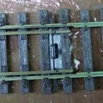Abdeckplatte für Bohrung für den Antrieb eingebaut