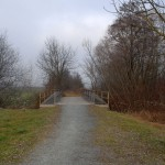 Bierbaum Neudau Brücke kurz nach Burgau