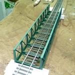 Brücke mit Gleis