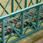 Brücke mit Gleis Detail